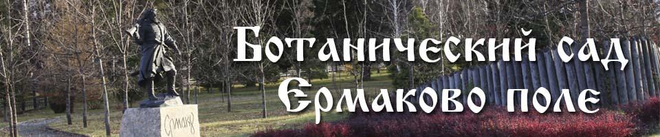 ботанический сад Ермаково поле